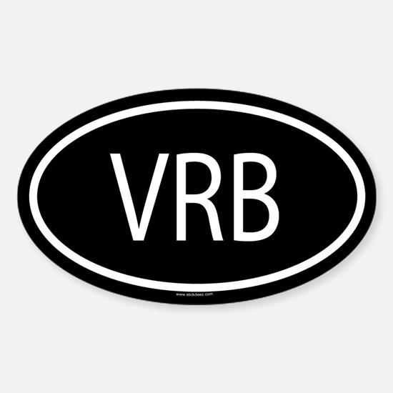 VRB Oval Decal
