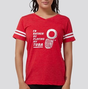 Funny Tuba Women's Dark T-Shirt