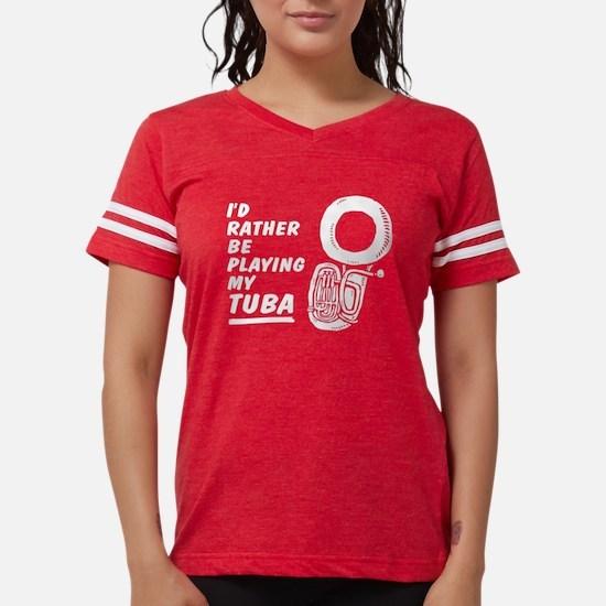 Funny Tuba Women's Dark T-Shirt