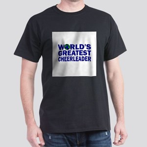 World's Greatest Cheerleader Dark T-Shirt