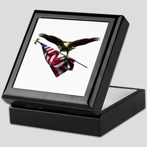 Eagle & Flag Keepsake Box