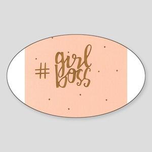 Girl Boss Sticker