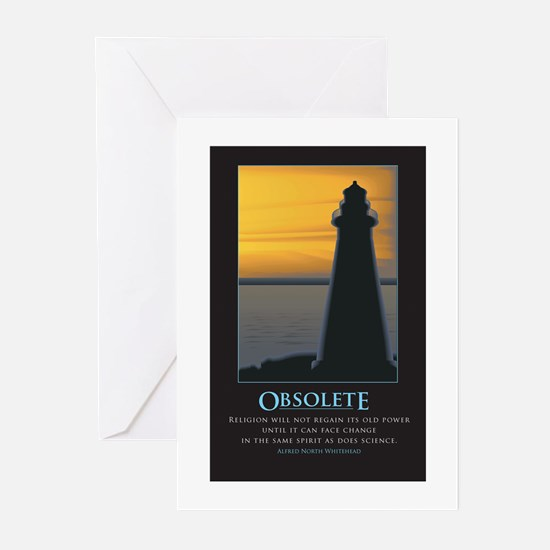 Obsolete Greeting Cards (Pk of 10)