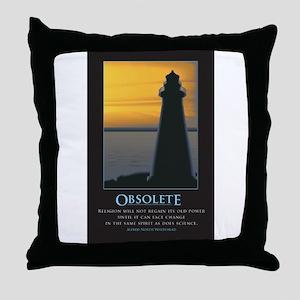 Obsolete Throw Pillow