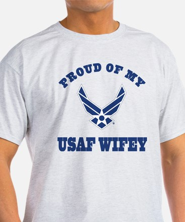 Air Force Wifey Proud Husband T-Shirt