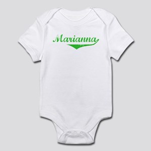 Marianna Vintage (Green) Infant Bodysuit