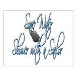Shower with a Sailor Small Poster