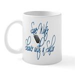 Shower with a Sailor Mug