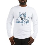 Shower with a Sailor Long Sleeve T-Shirt