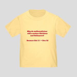 Octal or Decimal? #2 Toddler T-Shirt