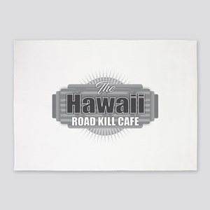 Hawaii Road Kill Cafe 5'x7'Area Rug
