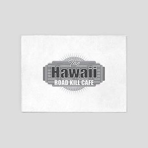 Hawaii Road Kill Cafe 5'x7'Area Rug