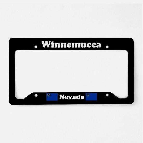 Winnemucca NV - LPF License Plate Holder