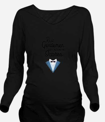 Real Gentlemen are born in October Ce706 T-Shirt