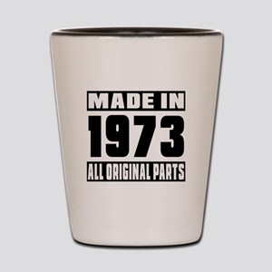 Made In 1973 Shot Glass