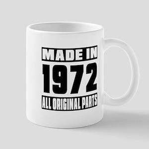 Made In 1972 Mug
