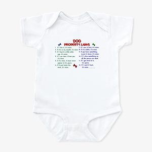 Dog Property Laws 2 Infant Bodysuit