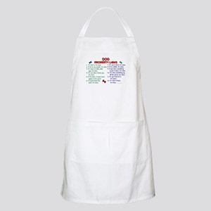 Dog Property Laws 2 BBQ Apron