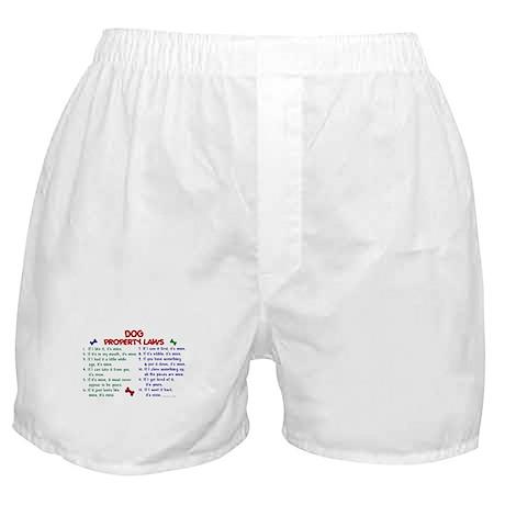 Dog Property Laws 2 Boxer Shorts