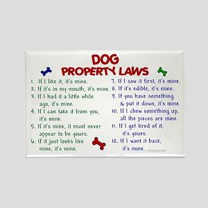Dog Property Laws 2 Rectangle Magnet