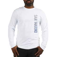 San Marino Stamp Long Sleeve T-Shirt