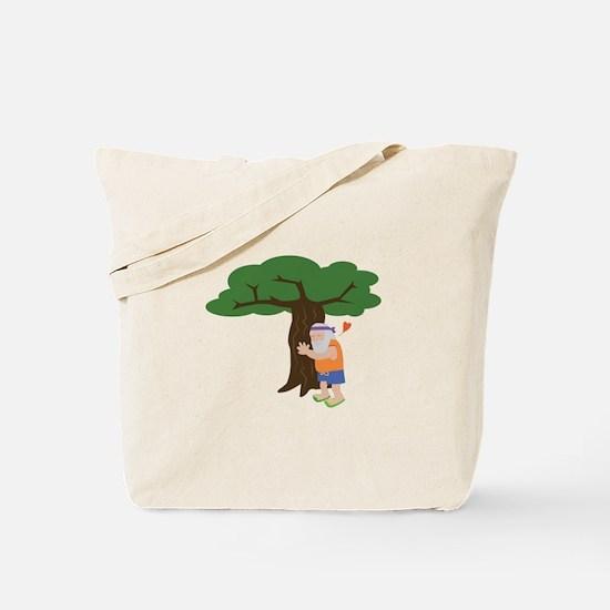 Tree Hugger Man Tote Bag