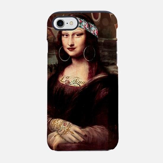 La Chola Mona Lisa iPhone 8/7 Tough Case
