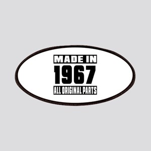 Made In 1967 Patch