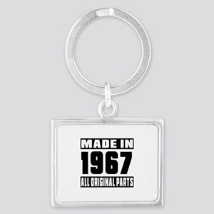 Made In 1967 Landscape Keychain