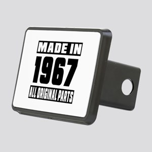 Made In 1967 Rectangular Hitch Cover