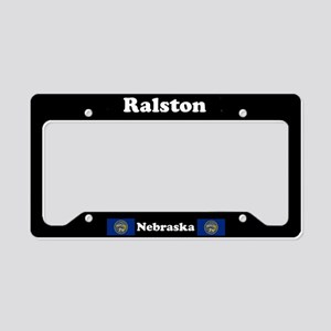 Ralston NE License Plate Holder