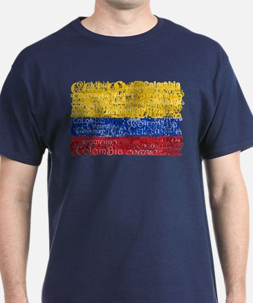 Textual Colombia T-Shirt