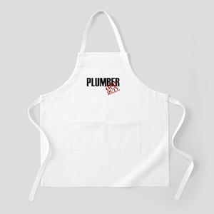 Off Duty Plumber BBQ Apron