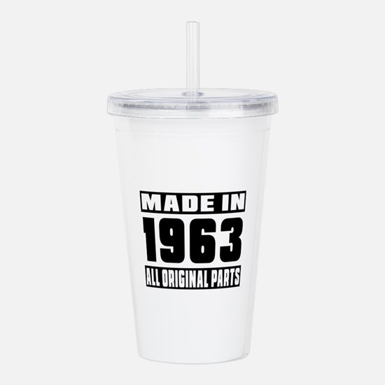 Made In 1963 Acrylic Double-wall Tumbler