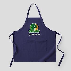 Irish Grandma Gift Apron (dark)