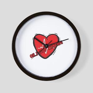 Cardiac Rhythm Wall Clock