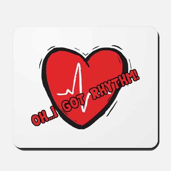 Cardiac Rhythm Mousepad