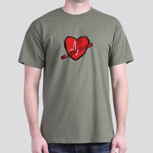 Cardiac Rhythm Dark T-Shirt