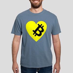 VINTAGE PREMIUM BITCOIN HEART T-Shirt