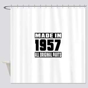 Made In 1957 Shower Curtain