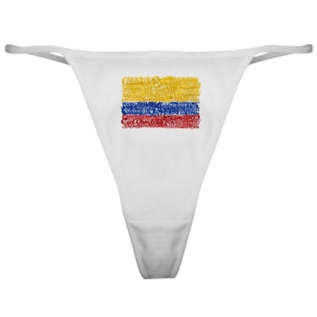 Textual Colombia Classic Thong