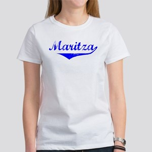 Maritza Vintage (Blue) Women's T-Shirt