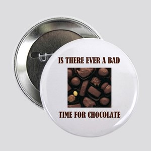"CHOCOLATE 2.25"" Button"