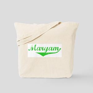 Maryam Vintage (Green) Tote Bag