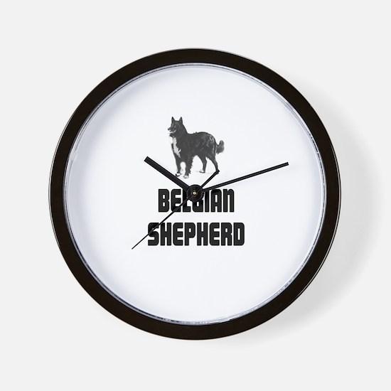 Belgian Shepherd Wall Clock