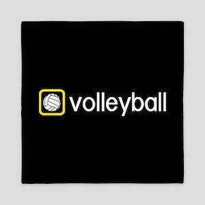 Volleyball (Yellow) Queen Duvet