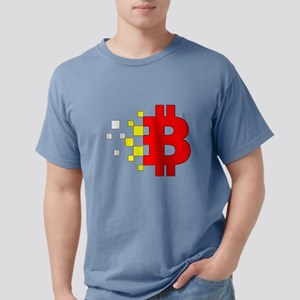 VINTAGE PREMIUM DIGITAL BITCOIN BLOCKCHAIN T-Shirt