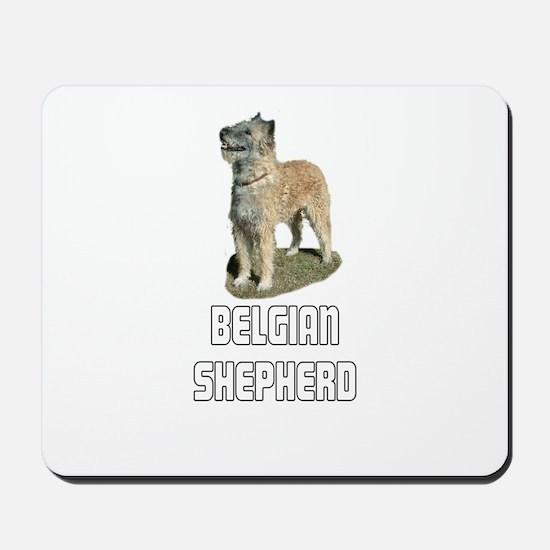 Belgian Shepherd Mousepad