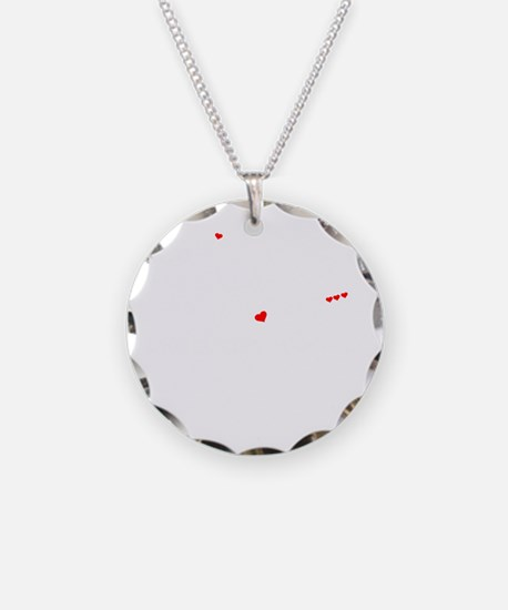 Cute Jadyn Necklace Circle Charm