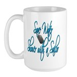 Shower with a Sailor Large Mug